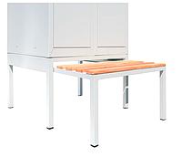 Скамейка выдвижная для одежного шкафа СГ модель 11, размеры  370х800 мм, фото 1