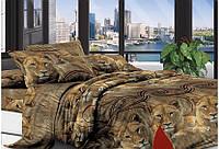 """Комплект постельного белья ТМ """"TAG"""" Поликоттон 3D """"XHY1961"""" Двуспальный"""