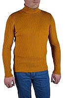 Гольф мужской Turhan 8408-04 S горчичный