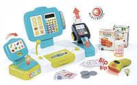 Электронная касса Smoby Toys с терминалом, весами и аксессуарами 350105