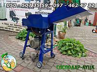 Электросоломорезка Жужа 2.6 кВт/220, измельчитель стебельчастых кормов травы, соломы, стеблей кукурузы, камыша