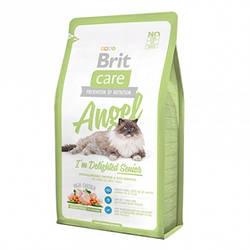 Корм Brit Care Angel I am Delighted Senior Cat Брит Каре для літніх кішок старше 7 років 2 кг