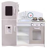 Детская деревянная кухня EcoToys PLK529 XXL + 5 аксессуаров (9021)