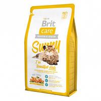 Корм Brit Care Sunny I have Beautiful Hair Cat Брит Каре для кішок здорова шкіра і шерсть 7 кг