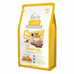 Корм Brit Care Sunny I have Beautiful Hair Cat для кішок здорова шкіра і шерсть 2 кг (термін до 09,21)