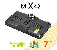 ЛУЧШИЙ! GPS навигатор MiXzo MX760DVR +1/16GB DVR/AV/FM/BT/Wi/Fi