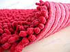 Коврик для ванной хлопковый, 70*100см. цвет красный. Набор ковриков для ванной, фото 7