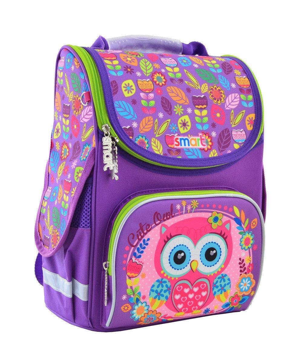 Рюкзак школьный, каркасный 1 Вересня Smart PG-11 Little Owl