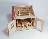 Кукольный домик Hega розовый 1эт.(041A), фото 3