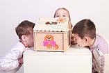 Кукольный домик  Hega  с росписью 1эт. (039A), фото 2
