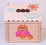 Кукольный домик  Hega  с росписью 1эт. (039A), фото 3