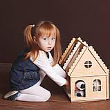 Кукольный домик  Hega тонированый 2эт.  (071), фото 3