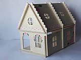 Кукольный домик Hega с росписью 2эт.  (069), фото 2