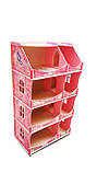 Кукольный домик-шкаф Hega с росписью мраморный (090B1), фото 3