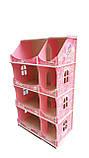 Кукольный домик-шкаф Hega с росписью мраморный (090B1), фото 4