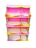 Кукольный домик-шкаф Hega радужный с росписью (090P), фото 2