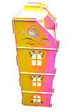 Кукольный домик-шкаф Hega радужный с росписью (090P), фото 3