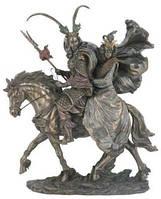 """""""Самурай с гейшей на коне""""- статуэтка из полистоуна в бронзе. Veronese"""