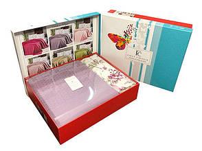 Постельное бельё First Choice пике deluxe с покрывалом 230х250 , фото 2