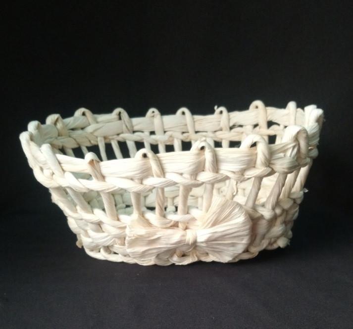 Корзинка для подачи хлеба 20*16см (кукуруза)