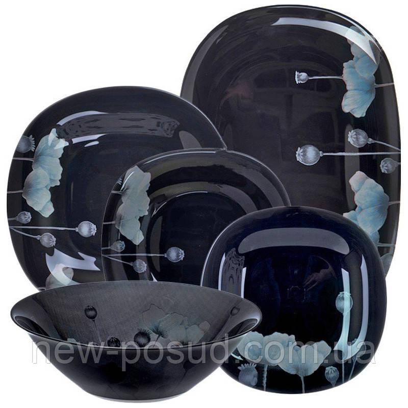 Столовый сервиз Luminarc Angelique Turquoise 46 предметов P5648