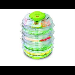 Сушка для продуктов зелен 350 Вт, 6 ярусов, по 1 кг Saturn ST-FP0113-6зелен