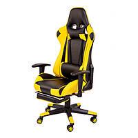 Крісло комп'ютерне Drive-Omega чорно/жовте