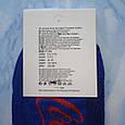 Носки мужские синие с красным принтом в стиле Cocaine размер 41-45, фото 3