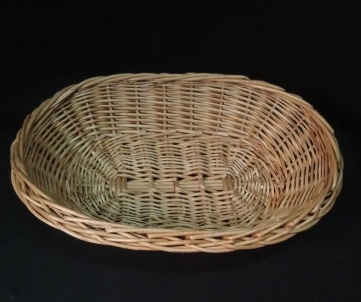 Плетена корзинка з лози 26*18см (Польща)
