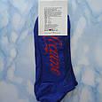 Носки мужские синие с красным принтом в стиле Cocaine размер 41-45, фото 2
