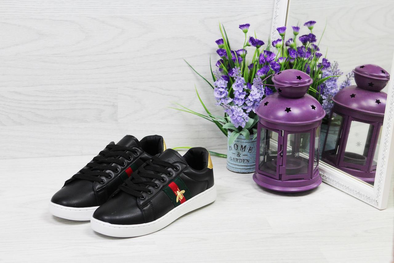 c0d7efdcb5e7 Женские кроссовки GUCCI, черные. Код товара: Д - 5558 - Bigl.ua