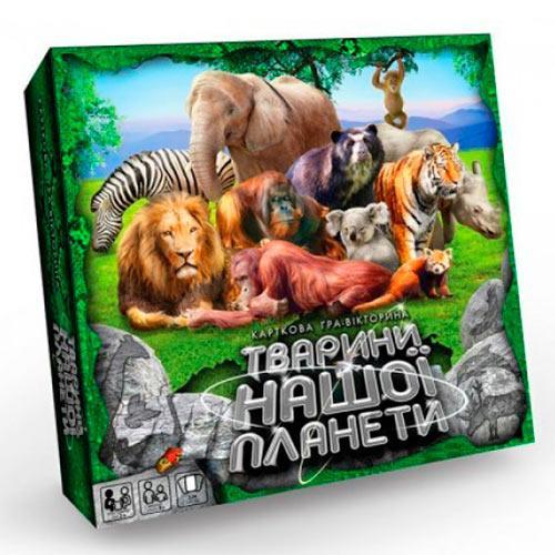"""Игра настольная """"Тварини нашої планети 2"""" G-JNP-01U"""