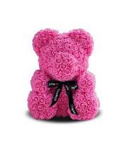 Мягкая игрушка Bear Мишка из роз Розовый 25 см 285443, КОД: 984756