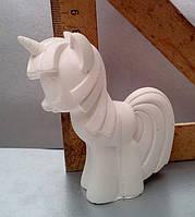 Гипсовая фигурка для раскрашивания статуэтка. Гіпсова фігурка для розмальовування. Единорожек пони