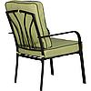 Комплект Veracruz черный/салатовый (Диван 2-хместный+2 кресла+стол) ТМ AMF, фото 5