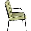 Комплект Veracruz черный/салатовый (Диван 2-хместный+2 кресла+стол) ТМ AMF, фото 6