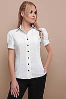 Блуза GLEM Эльза к р L Белый GLM-bl00056, КОД: 717571