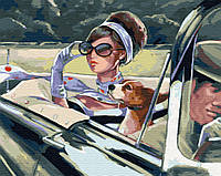 """Картина по номерам Royaltoys Картина по номерам. Brushme """"В кабриолете"""" GX29726 SKU_GX29726"""
