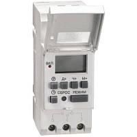 Таймер ТЭ 15 цифровой 16А 230В на DIN-рейку ИЭК