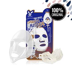 Тканевая маска для регенерации эпидермиса ELIZAVECCA EGF Deep Power Ringer Mask
