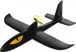 Самолет Royaltoys Самолет A0006007Black, 36см, пенопласт, аккум, винт, зарядное(раб.от бат),в кор-ке,38-12,5-4см SKU_A0006007Black