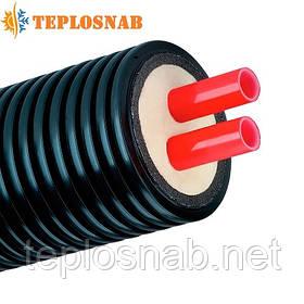 Труба предизолированная AustroPUR double 2-20x1,9х125 PE-Xa