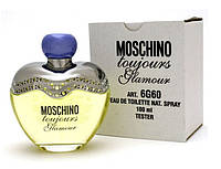 MOSCHINO TOUJOURS GLAMOUR EDT 100 мл ТЕСТЕР женская туалетная вода
