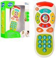Пульт Royaltoys Пульт 3113, 16,5см, муз,звук(англ),обуч(цифры),свет,регул.громк,на бат-ке,в кор-ке,16-22-5,5см SKU_3113