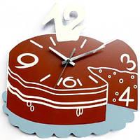 Часы настенные ST Торт 29 х 30.5 х 4.5 см Коричневый psgST-01-223, КОД: 944899
