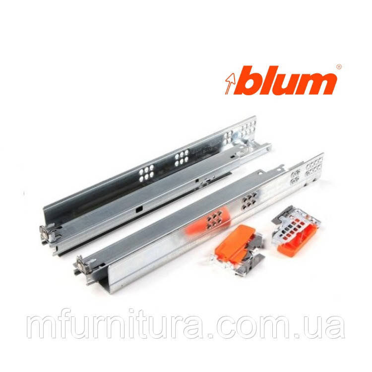 Напр. TANDEM plus 500 мм (50 кг)(16мм) BLUMOTION , полн.выдв. - blum (Австрия)