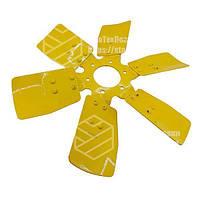 Крыльчатка вентилятора 245-1308040-А системы охлаждения МТЗ, Д-243, Д-245 (металлический, 6 лопастей) Подробне