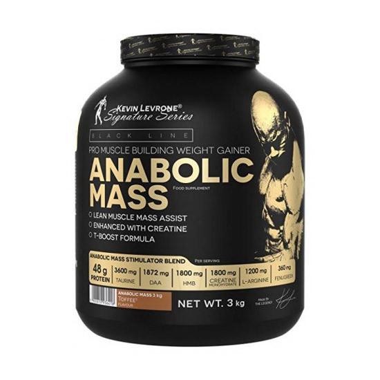Гейнер для набора массы Kevin Levrone Anabolic MASS 40% protein (3 кг) кевин леврон анаболик масс strawberry