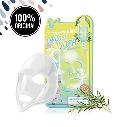 Тканевая маска для лица с экстрактом чайного дерева ELIZAVECCA Tea Tree Deep Power Ringer Mask