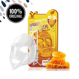 Тканевая медовая маска для лица ELIZAVECCA Honey Deep Power Ringer Mask